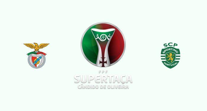 Benfica v Sporting Lisboa Previa, Predicciones y Pronóstico 04-08-2019