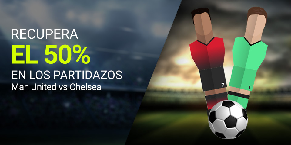 Manchester United v Chelsea partidazo Luckia