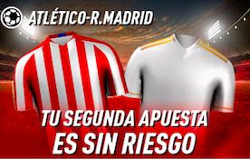 Atlético Madrid v Real Madrid oferta Sportium