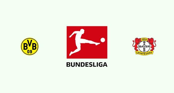 Borussia Dortmund vs Bayer Leverkusen Previa, Predicciones y Pronóstico 10/08/2019