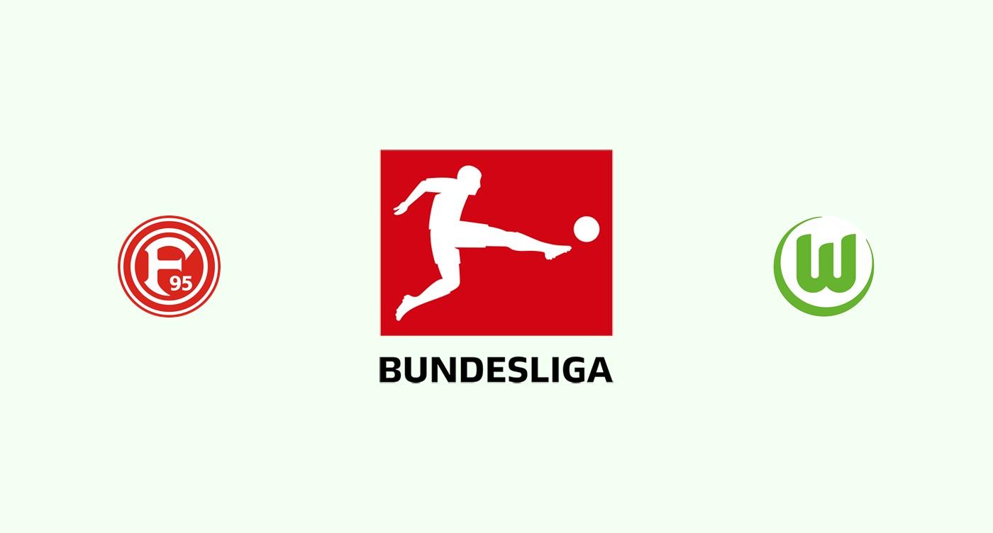 Fortuna Dusseldorf v Wolfsburgo
