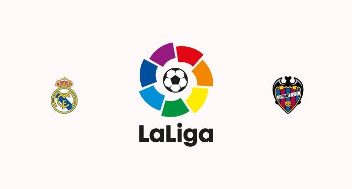 Real Madrid v Levante Previa, Predicciones y Pronóstico