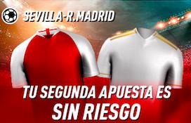 Sevilla v Real Madrid oferta Sportium
