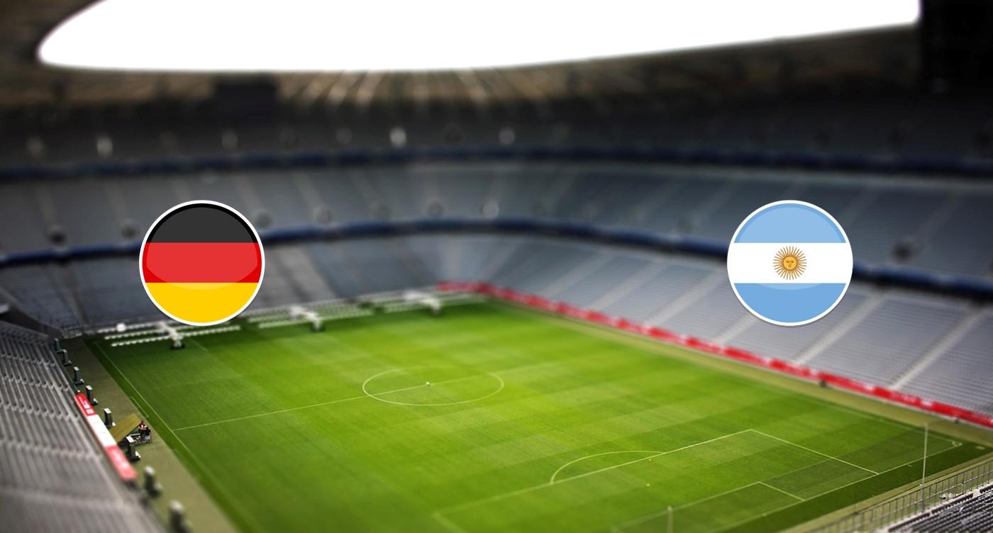Alemania v Argentina
