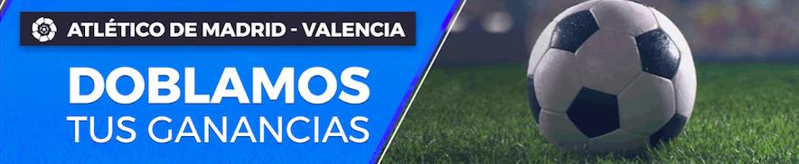 Atlético Madrid v Valencia oferta Pastón