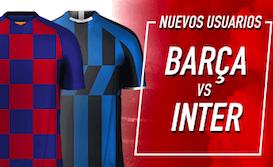 Barcelona v Inter Milán bono Sportium
