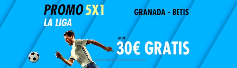 Granada v Betis bonus suertia