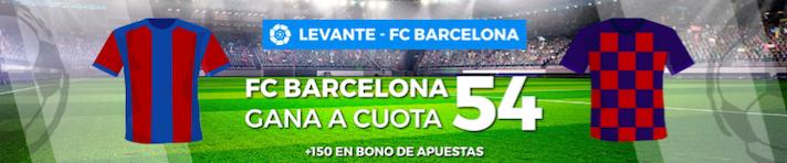 Levante v Barcelona cuota mejorada Pastón