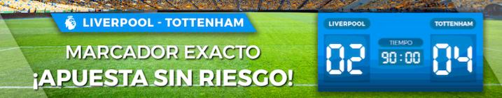 Liverpool v Tottenham oferta Pastón