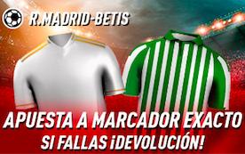 Real Madrid v Betis oferta Sportium