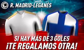 Real Madrid v Leganés oferta Sportium