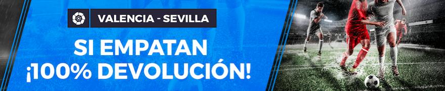 Valencia v Sevilla oferta Pastón