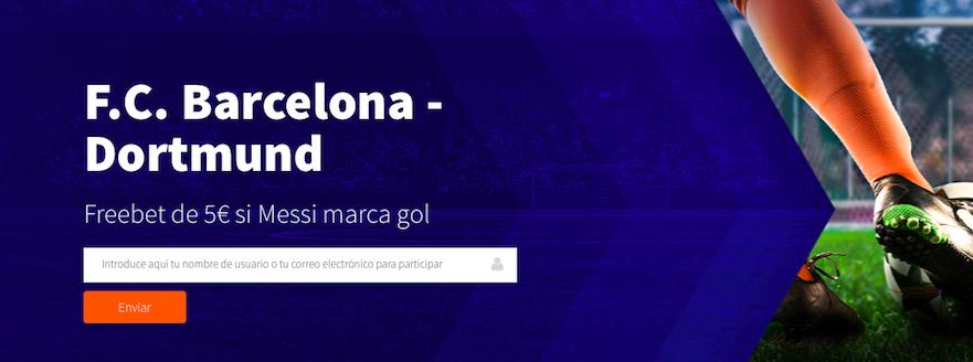 Barcelona v Borussia Dortmund bonus Betsson