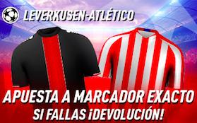 Bayer Leverkusen v Atlético Madrid oferta Sportium