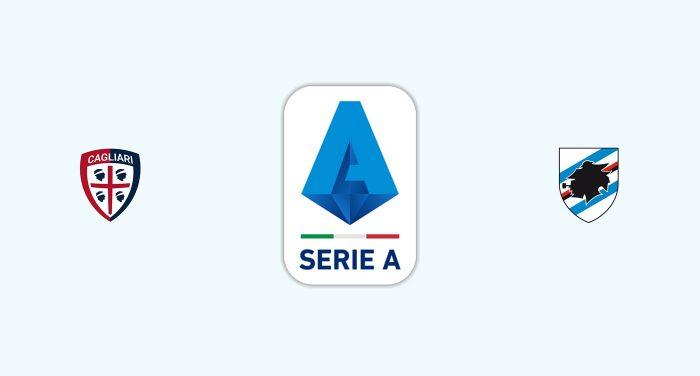 Cagliari v Sampdoria Previa, Predicciones y Pronóstico