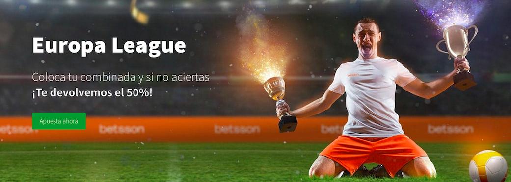 Europa League oferta Betsson