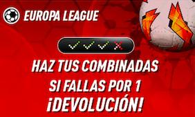 Europa League oferta Sportium