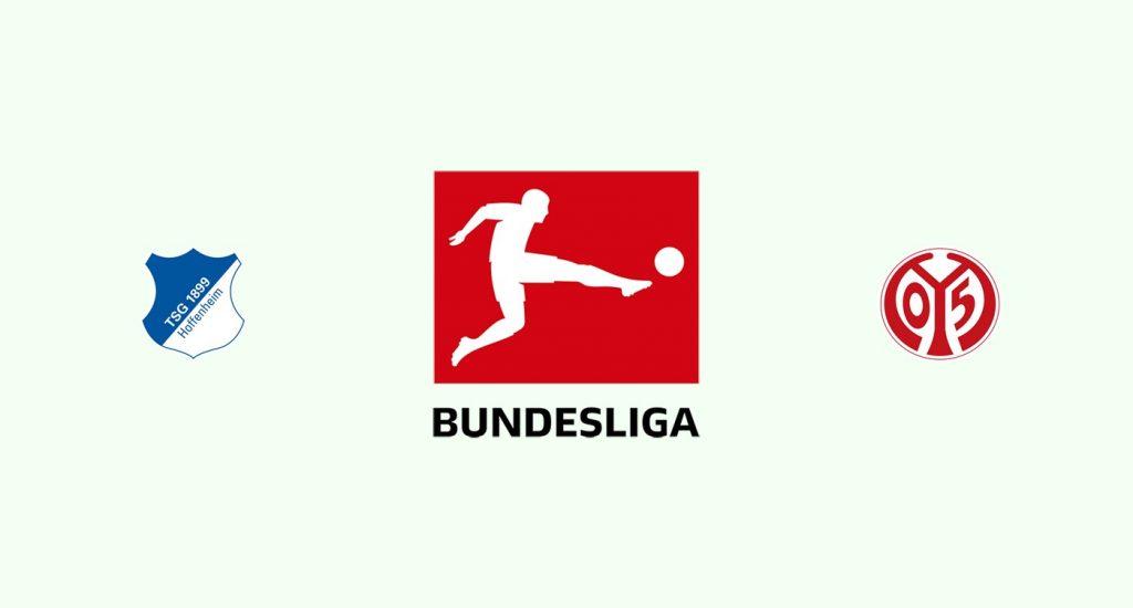 Hoffenheim v Mainz 05 Previa, Predicciones y Pronóstico