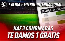 Liga Santander+fútbol internacional oferta Sportium