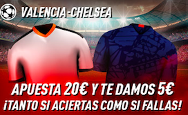 Valencia v Chelsea bono Sportium