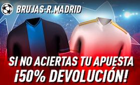 Brujas v Real Madrid oferta Sprortium