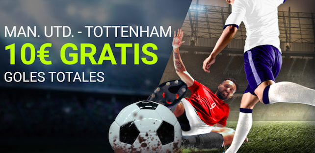 Manchester United v Tottenham bonus Luckia
