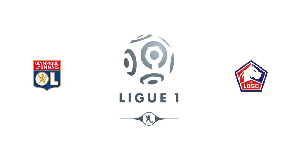 Olympique Lyon v Lille Previa, Predicciones y Pronóstico 02/12/2019