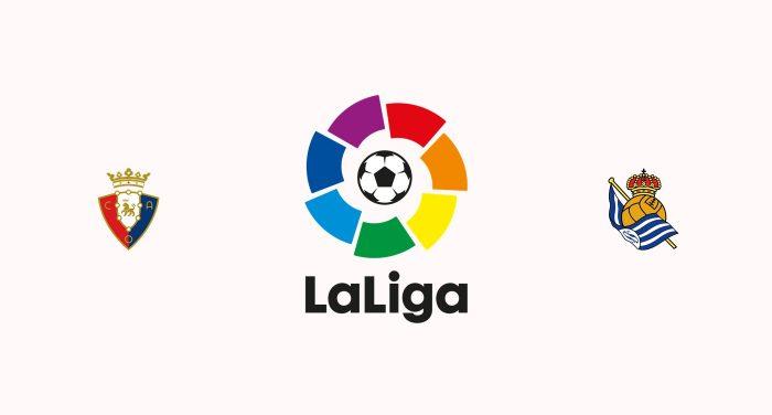 Osasuna vs Real Sociedad Previa, Predicciones y Pronóstico 19/12/2019
