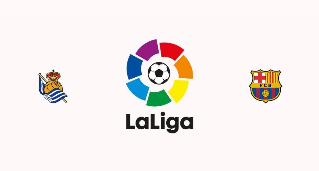 Real Sociedad v Barcelona Previa, Predicciones y Pronóstico