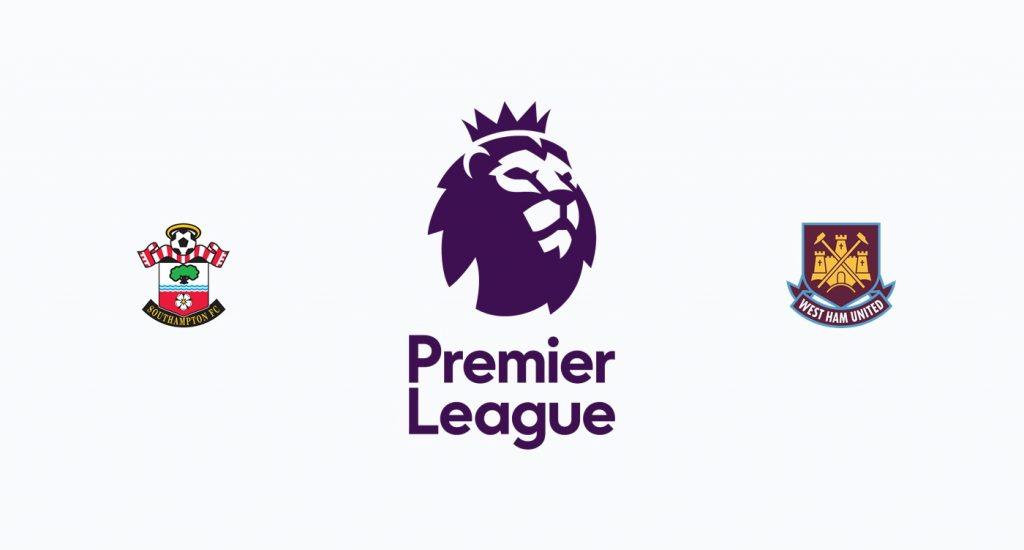 Southampton v West Ham Previa, Predicciones y Pronóstico