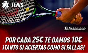 Tenis bono Sportium
