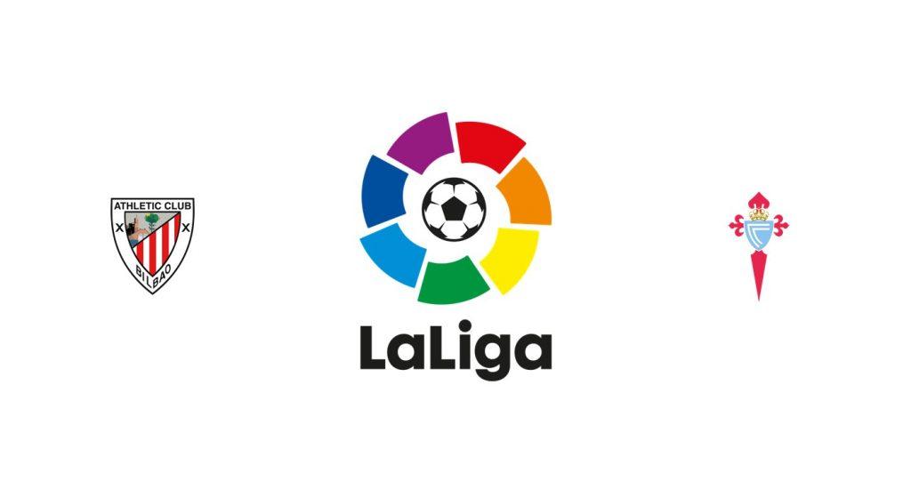 Athletic Club v Celta Vigo Previa, Predicciones y Pronóstico
