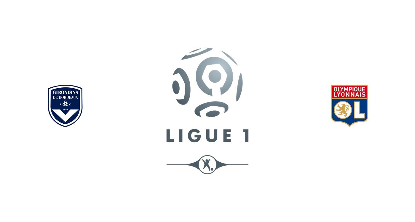 Girondins Bordeaux v Olympique Lyon