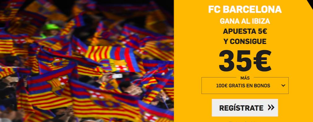 Ibiza v Barcelona cuota mejorada Betfair