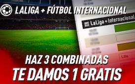 Liga Santander+Fútbol internacional bono Sportium