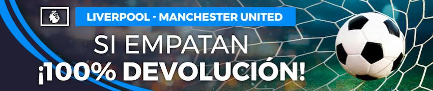 Liverpool v Manchester United oferta Pastón
