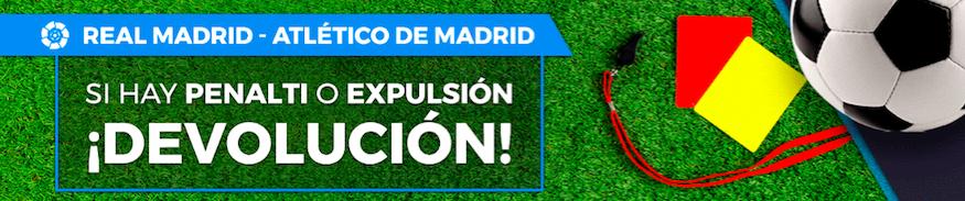 Real Madrid v Atlético Madrid oferta Pastón