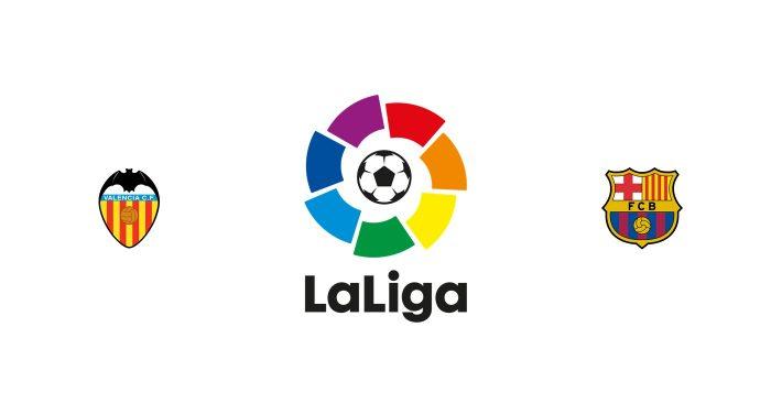 Valencia vs Barcelona Previa, Predicciones y Pronóstico 22/06/2020
