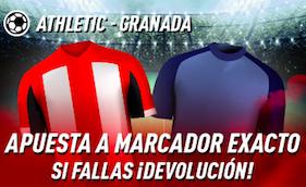 Athletic Club v Granada oferta Sportium