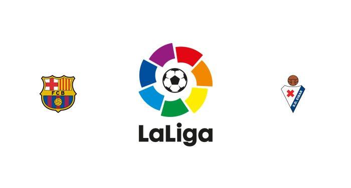 Barcelona vs Eibar Previa, Predicciones y Pronóstico