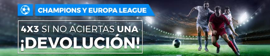 Champions League y Europa League oferta Pastón