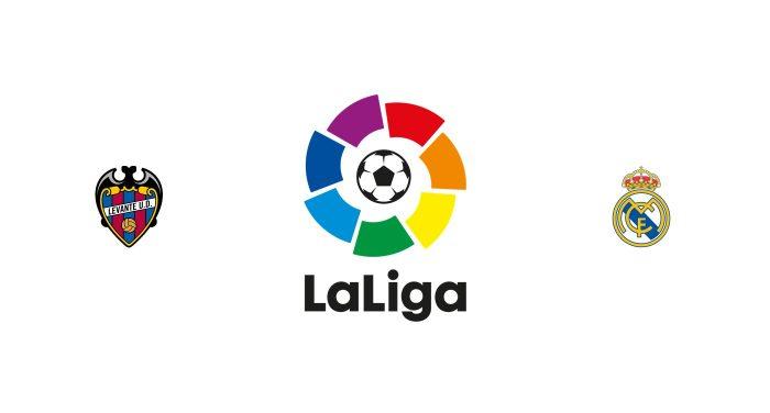 Levante v Real Madrid Previa, Predicciones y Pronóstico 21-02-2019