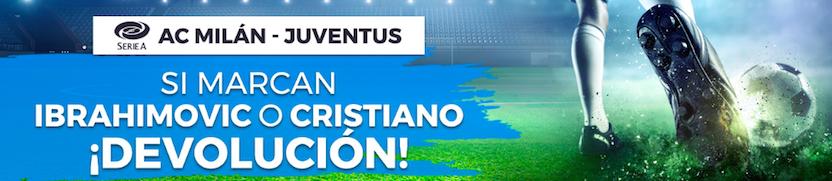 Milán v Juventus oferta Pastón