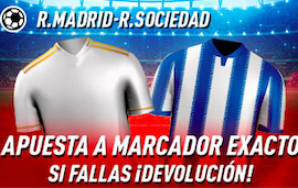 Real Madrid v Real Sociedad oferta Sportium
