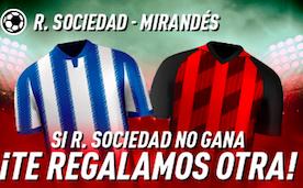 Real Sociedad v Mirandés bonus Sportium
