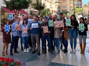 Trabajadores de 888 en Ceuta