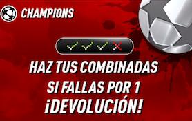 Champions League oferta Sportium
