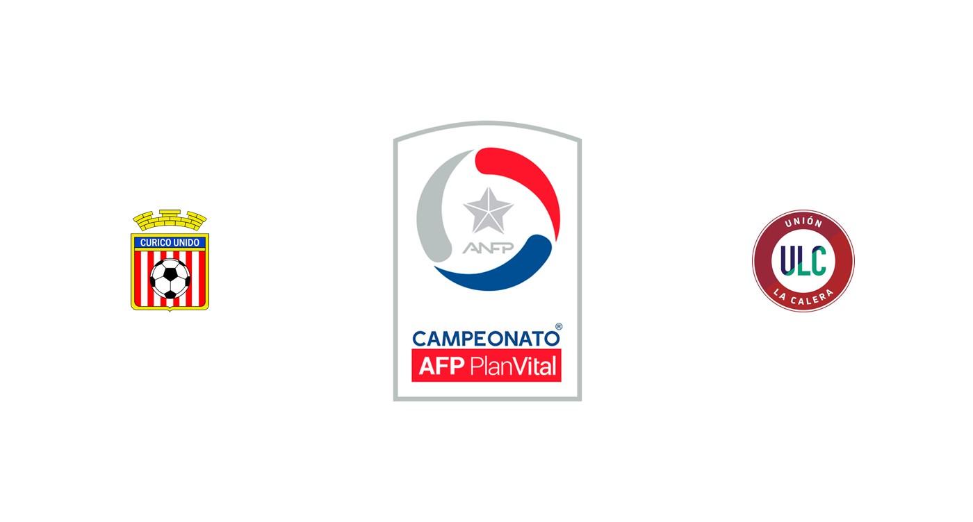 Curicó Unido vs Unión La Calera