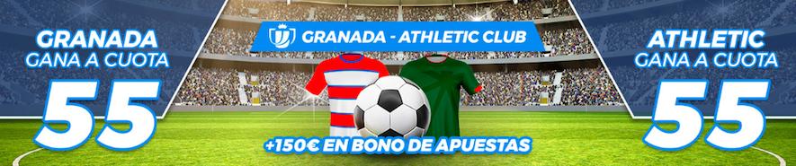 Granada v Athletic Club cuota mejorada Pastón