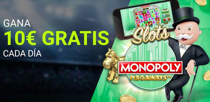 Luckia Casino Monopoly Megaway